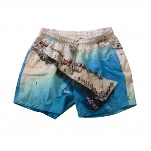 Swim Short - Greek Terrace Print