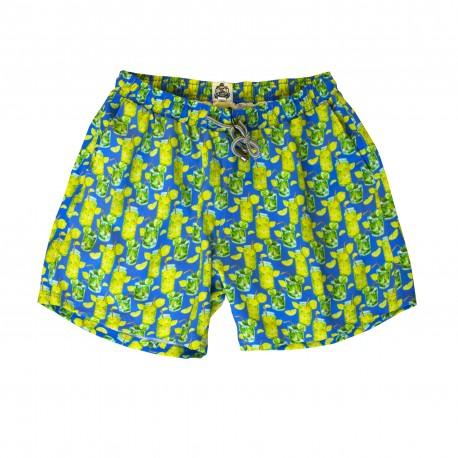 Swim Short - Air Mattress Print